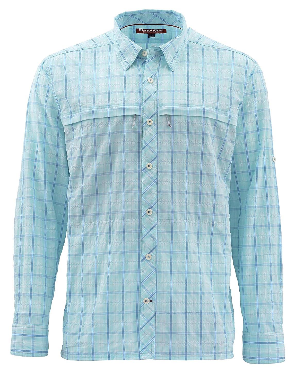 Simms Men's Stone Cold Shirt – UPF 30 Quick Dry Long Sleeve Shirt - Helps You Stay Cool – Anti Odor Technology – Fishing Shirt for Men
