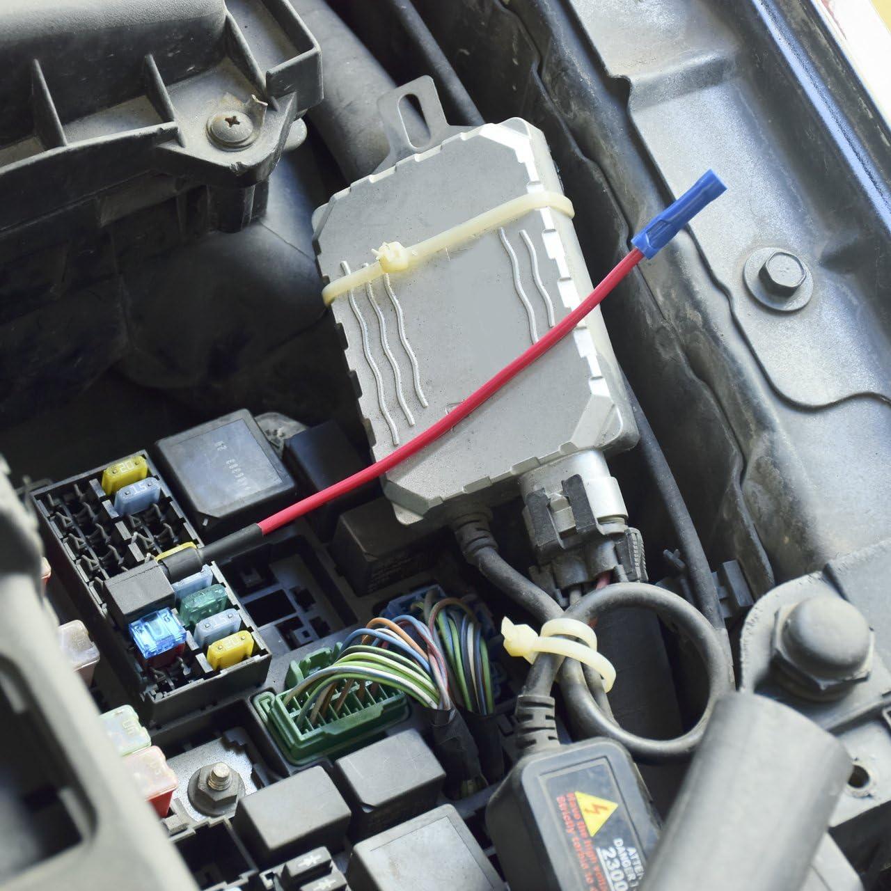 DEDC 10Pcs Flachsicherung Autosicherung Mini Sicherungshalter ...