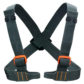 Black Diamond - Vario Chest - Chest Harness Size One Size, Grey ...