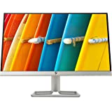 HP 22f Display Full HD (1920 x 1080) 21.5 Inch Monitor (1 VGA, 1 HDMI 2.0) - Silver / Black