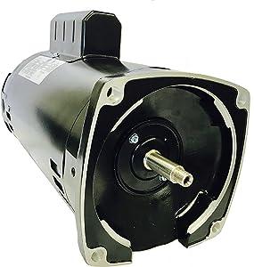 GW YYN5682-L7 2 HP, 3450RPM, 1.3 Service Factor, 56Y Frame, 208-230V, Square Flange Pool Pump Motor