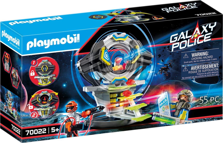 PLAYMOBIL- Galaxy Police Caja Fuerte con Código Secreto Juguete, Multicolor (70022): Amazon.es: Juguetes y juegos