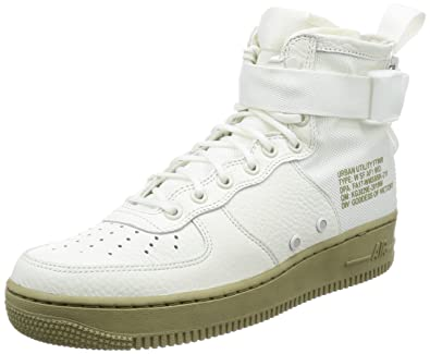Nike SF Air Force 1 Mid Women s Running Shoes Ivory Ivory-Mars Stone AA3966 8ead3e13b7