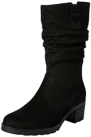 Gabor Shoes 52.802 Damen Halbschaft Stiefel, Schwarz (schwarz (Mel.) 47) 1382779de9