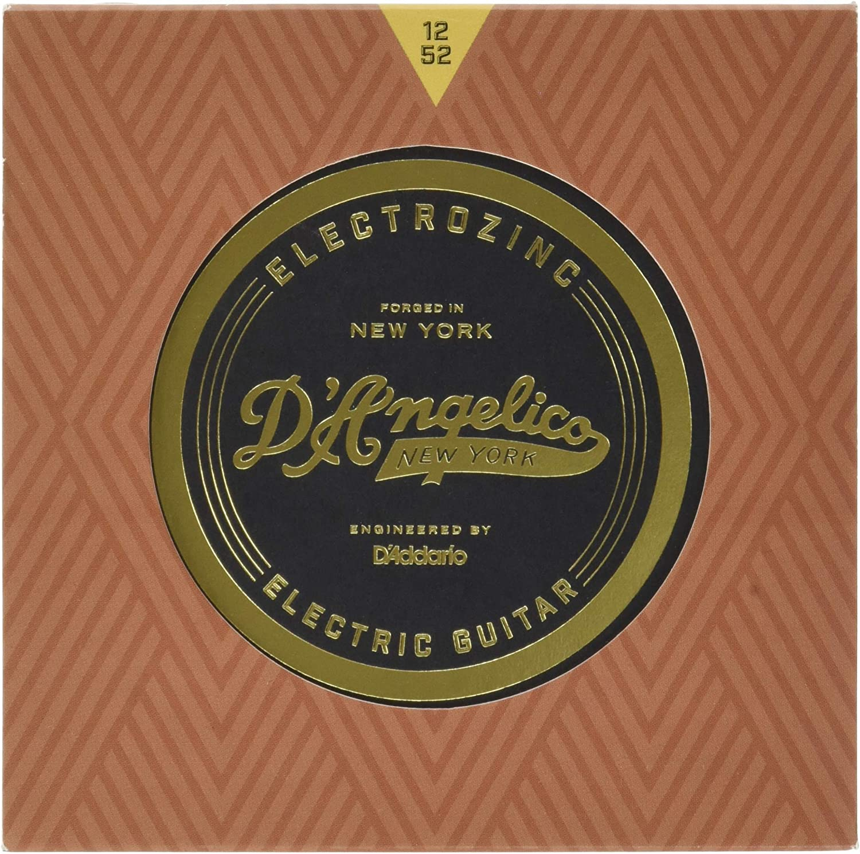 DAngelico Electrozinc Jazz 12-52 Light Electric Guitar Strings