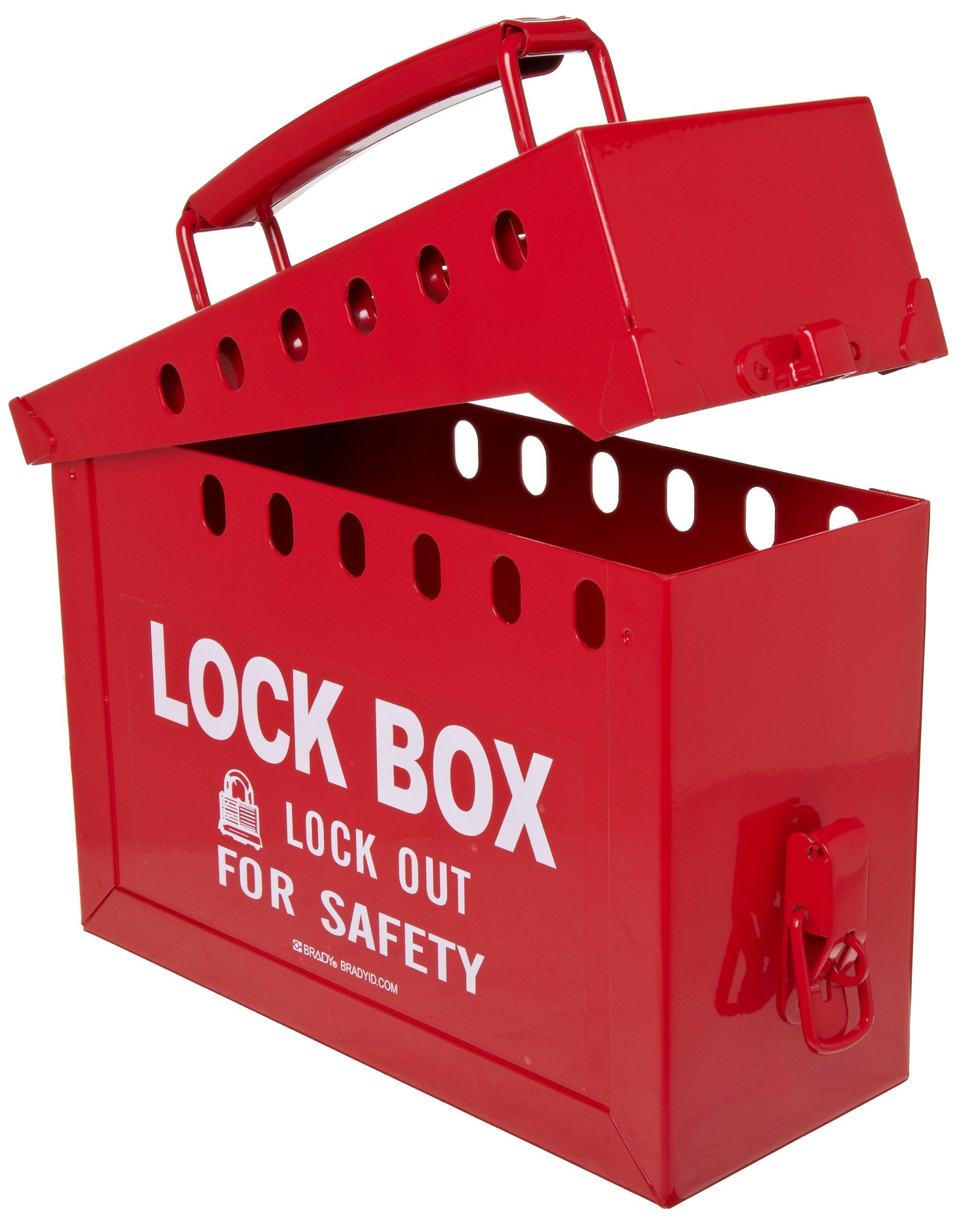 Brady Portable Group Lock Box, Metal by Brady