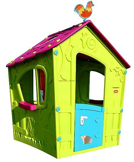 Keter - Casita infantil Playhouse. Edad recomendada: 4 - 7 años