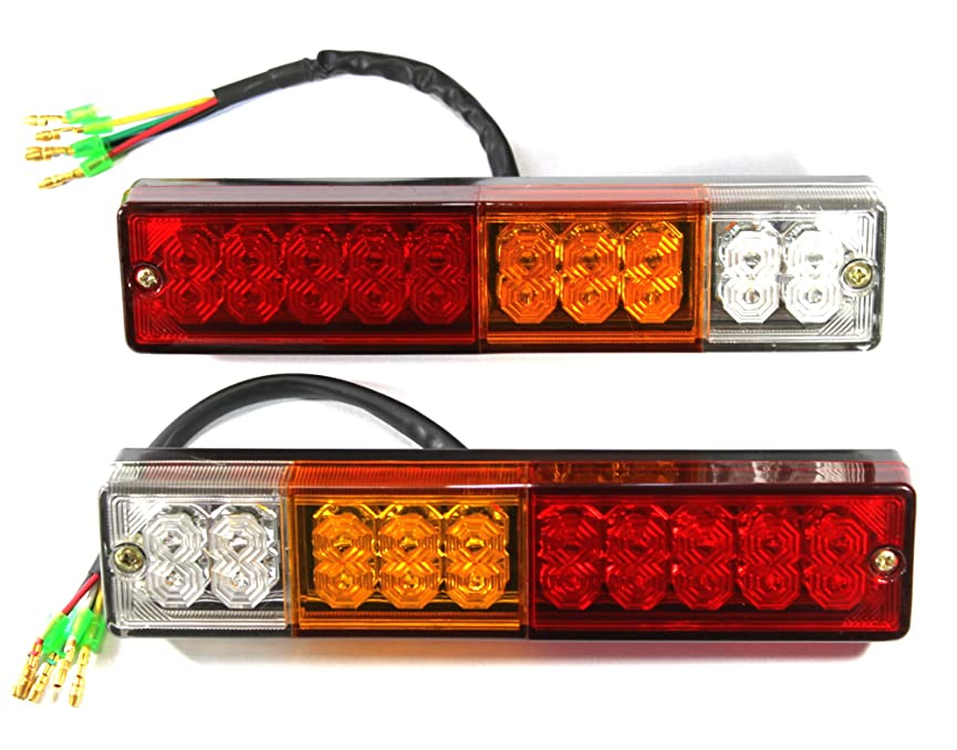 バイアス認識東ティモールシーケンシャル(流れる) ウインカー搭載 LEDスティック テールライト フレキシブルラバー 防水処理済み DC12V専用