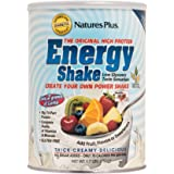 NaturesPlus Energy The Universal Protein Shake - 1.7 lbs - Flavor Neutral - Plant Based Meal Replacement, Vitamins, Minerals for Energy - Sugar-Free - Non-GMO, Vegetarian, Gluten-Free - 28 Servings