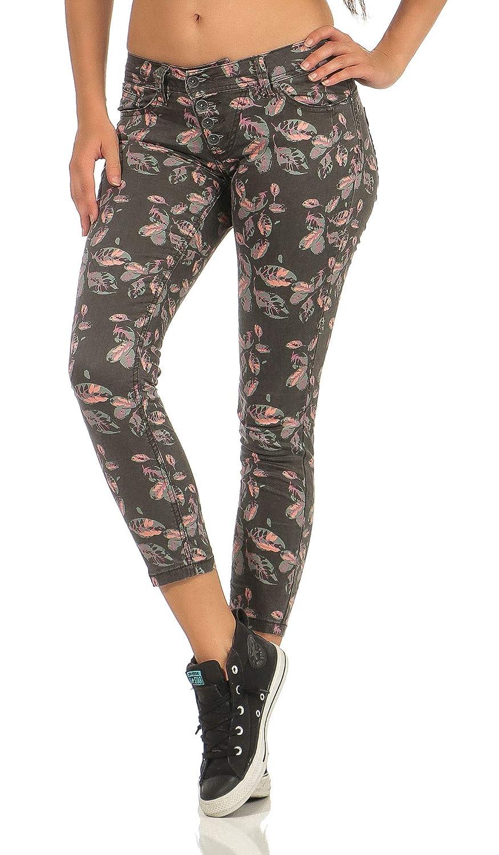 Buena Vista Malibu Zip K  Stretch Denim Tolle Damen Jeanshose mit Reißverschluss