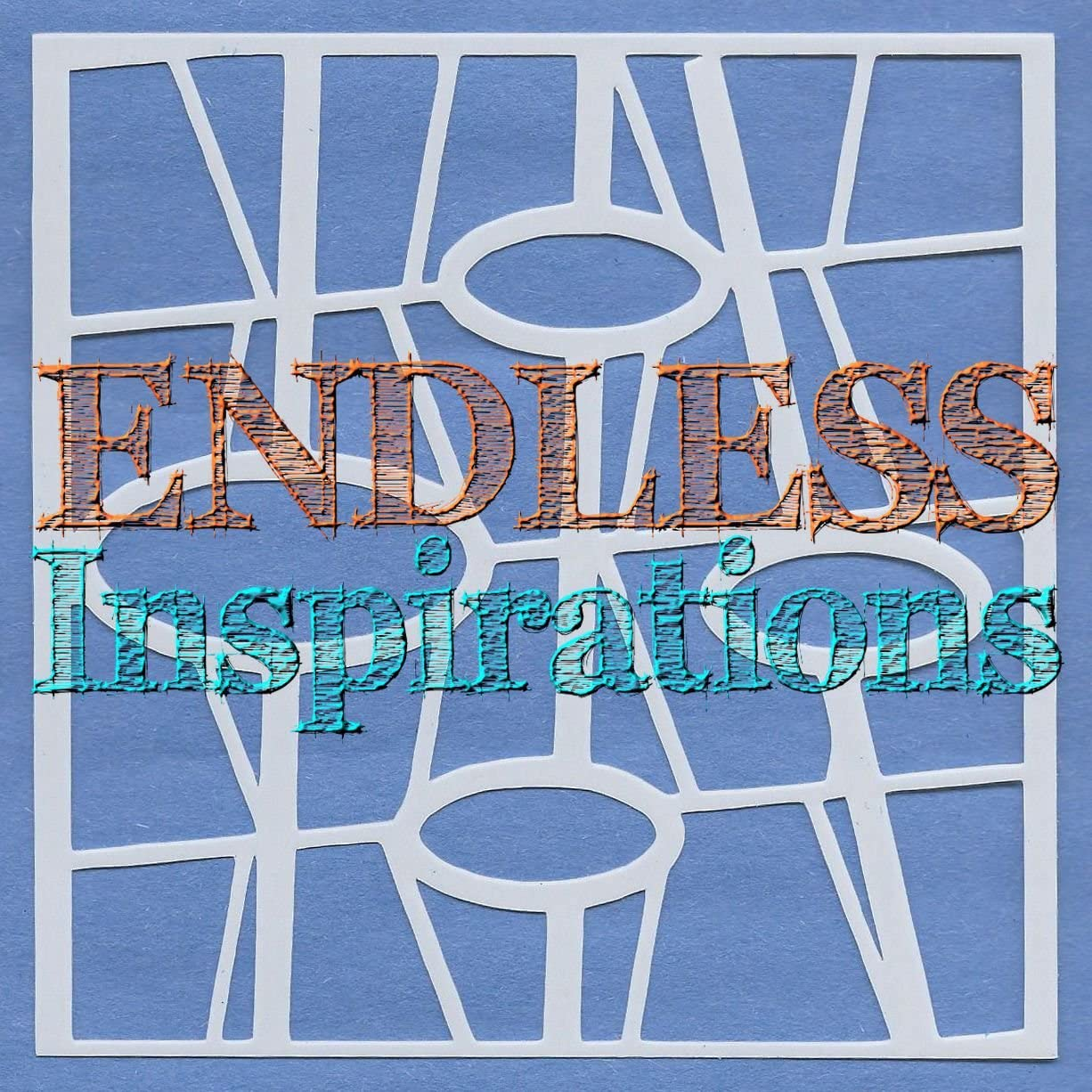 50s Abstract 6x6 Inch Endless Inspirations Original Stencil