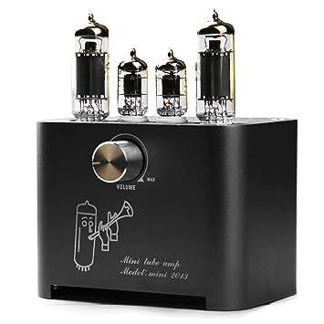 APPJ mini2013 6J1 + 6P1 (Original Miniwatt) Mini amplificador de tubo negro: Amazon.es: Electrónica