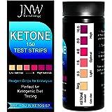 JNW Direct Ketone Test Strips, 150 Urinalysis Keto Test Strips for Testing Body Urine Ketosis Levels, Perfect Kit for Ketogen