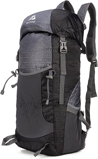 45L Packable Ultralight Hiking Backpack Foldable Lightweight Multi Functional C