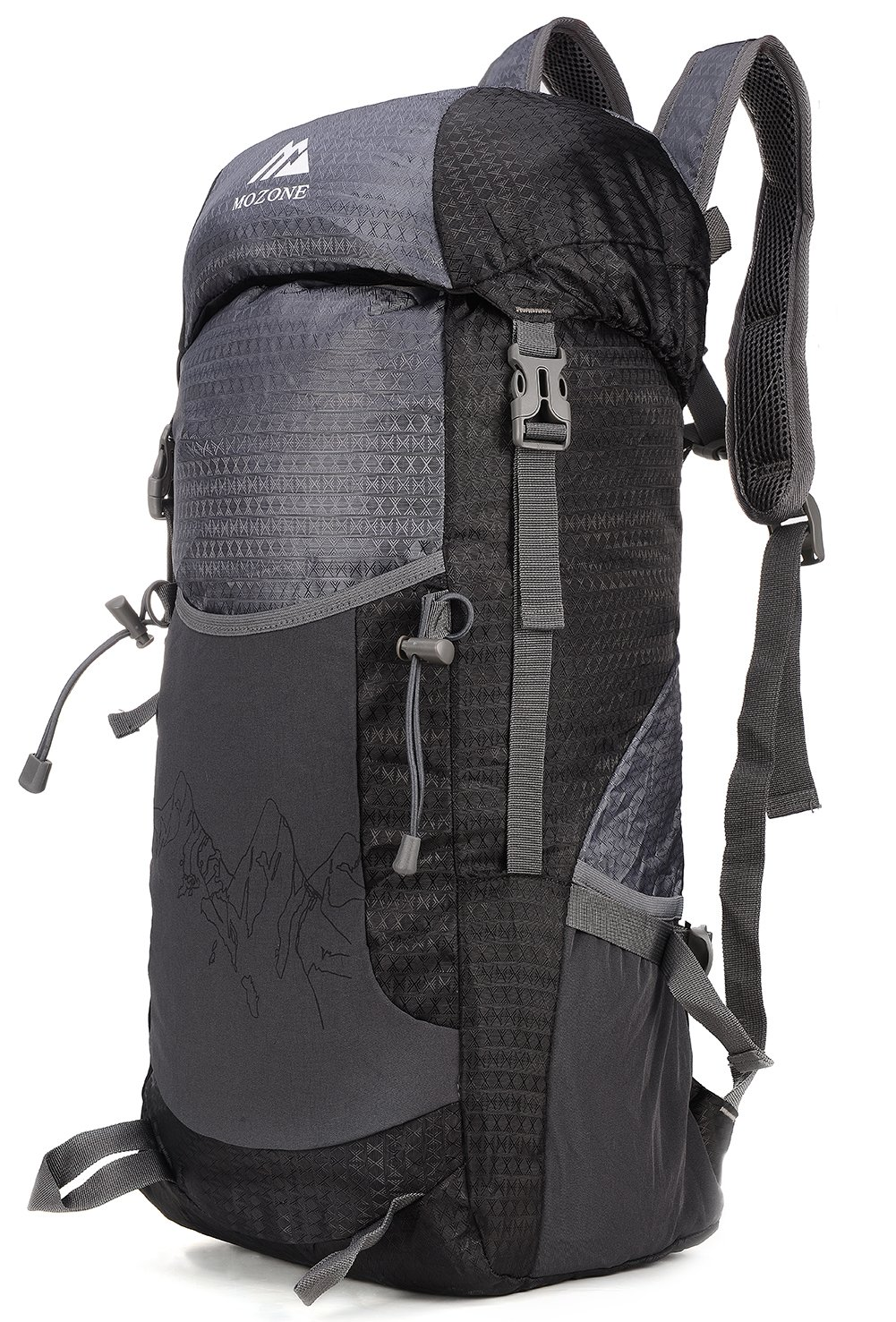 Amazon.com : Mozone Large 40l Lightweight Travel Backpack/foldable ...