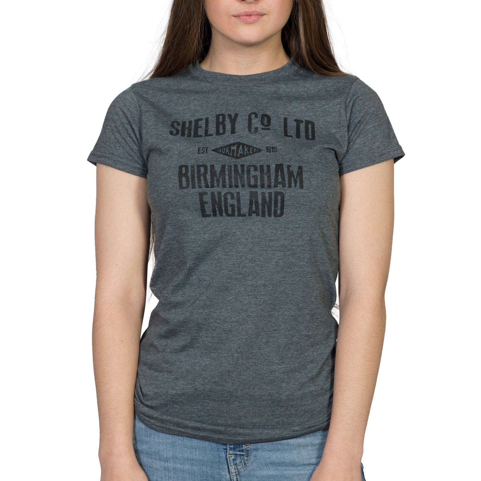 Jolly Shelby Company Bookmakers Womens T-Shirt