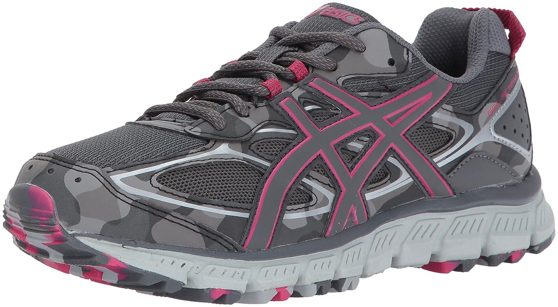 ASICS Women's Gel-Scram 3 Trail Runner B01MRHWOLY 10 B(M) US|Carbon/Carbon/Cosmo Pink