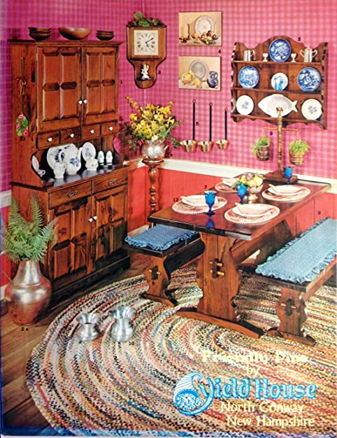 Superb Original Vintage 1973 Yield House Rustic Historic Furniture U0026 Housewares  Catalog North Conway New Hampshire