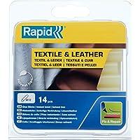 Rapid Lijmsticks voor textiel en leer, 14 lijmsticks 94 mm lengte, speciale lijm, hete lijm voor lijmpistool 11 mm, 12…