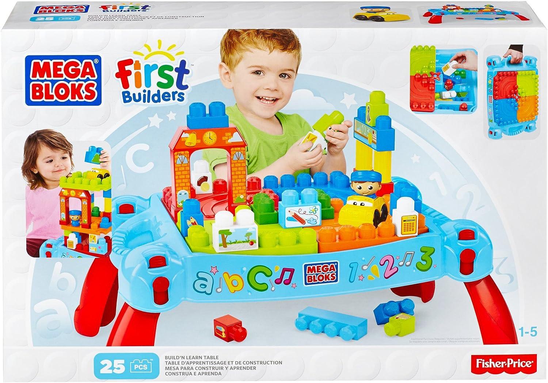 Mattel Mega Bloks First Builders DCH12 Bau  und Spieltisch   neue Farben