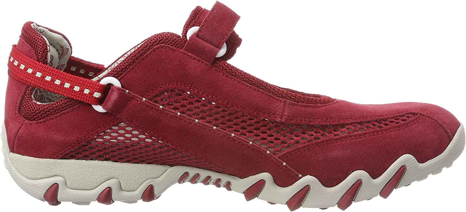 Allrounder by Mephisto Niro, Baskets mode femme Rosso Rot Red Red