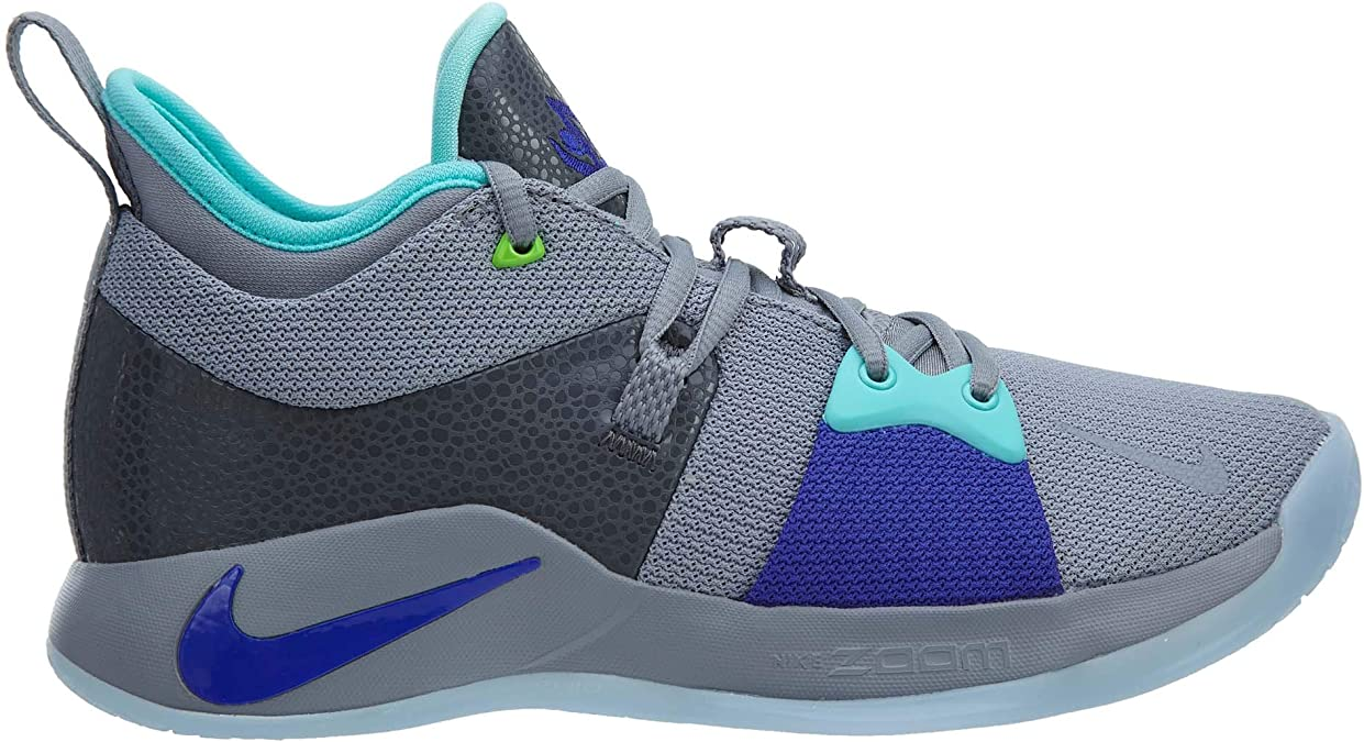 Nike Men's PG 2 Basketball Shoes (10, WhiteAqua):