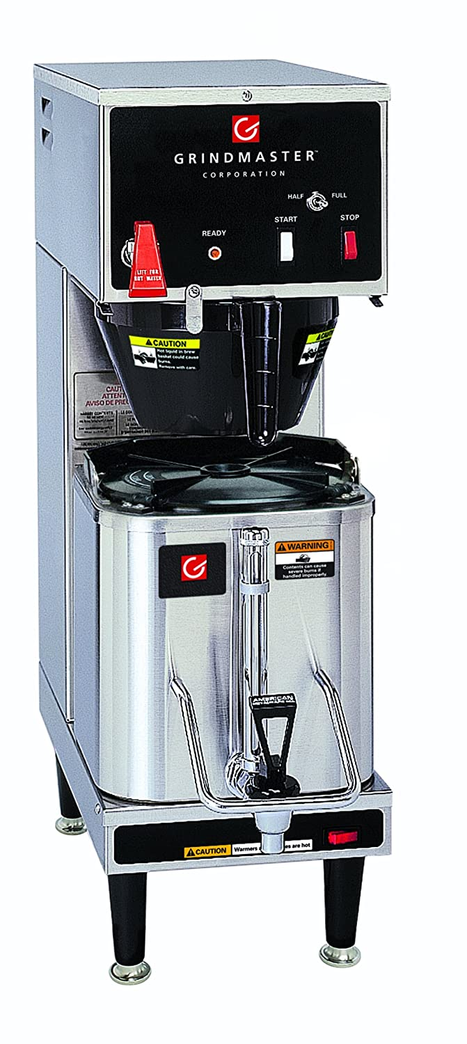 Grindmaster-Cecilware P200E 120 volt Single Shuttle Brewer with CS-LL Shuttle, 1.5-Gallon, Stainless Steel 81CvdA-E8bL._SL1500_