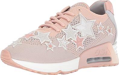 ASH Women's As-Lucky Star Sneaker, Nude