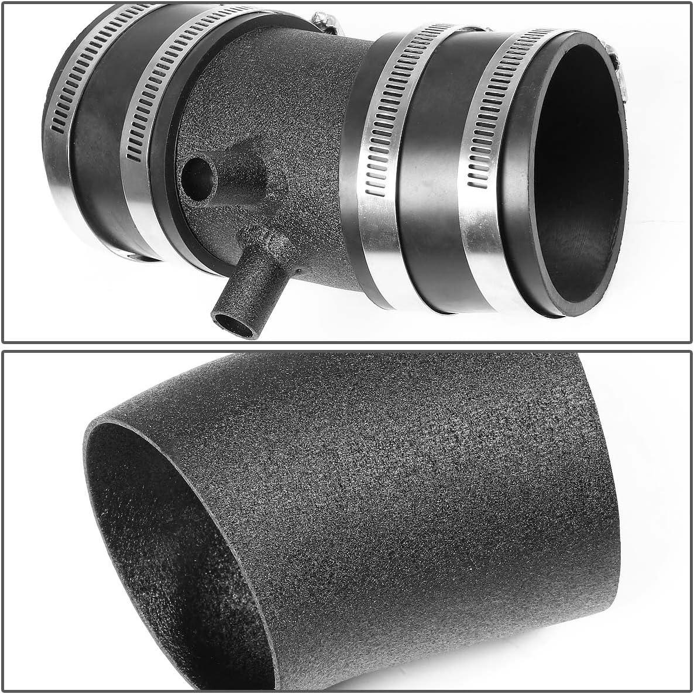 FOR 99-03 NISSAN FRONTIER D22//XTERRA 3.3 WRINKLE BLACK AIR INTAKE+HEAT SHIELD