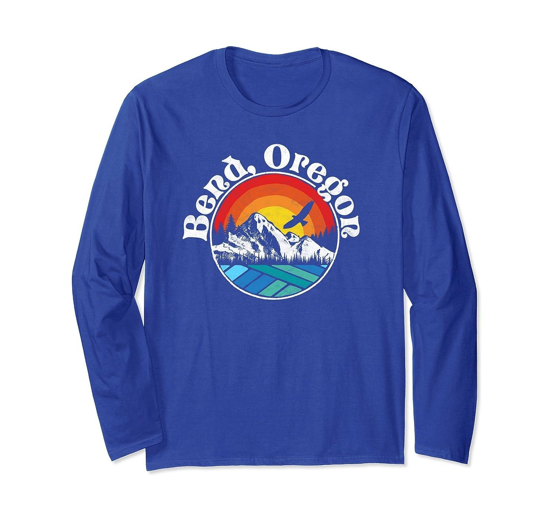 Bend Oregon Vintage Mountain Outdoor Hiking Shirt-ln