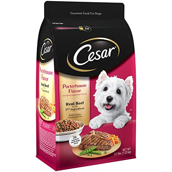 Cesar Small Breed Dry Dog Food - Best for Chihuahuas With Simple Tastes