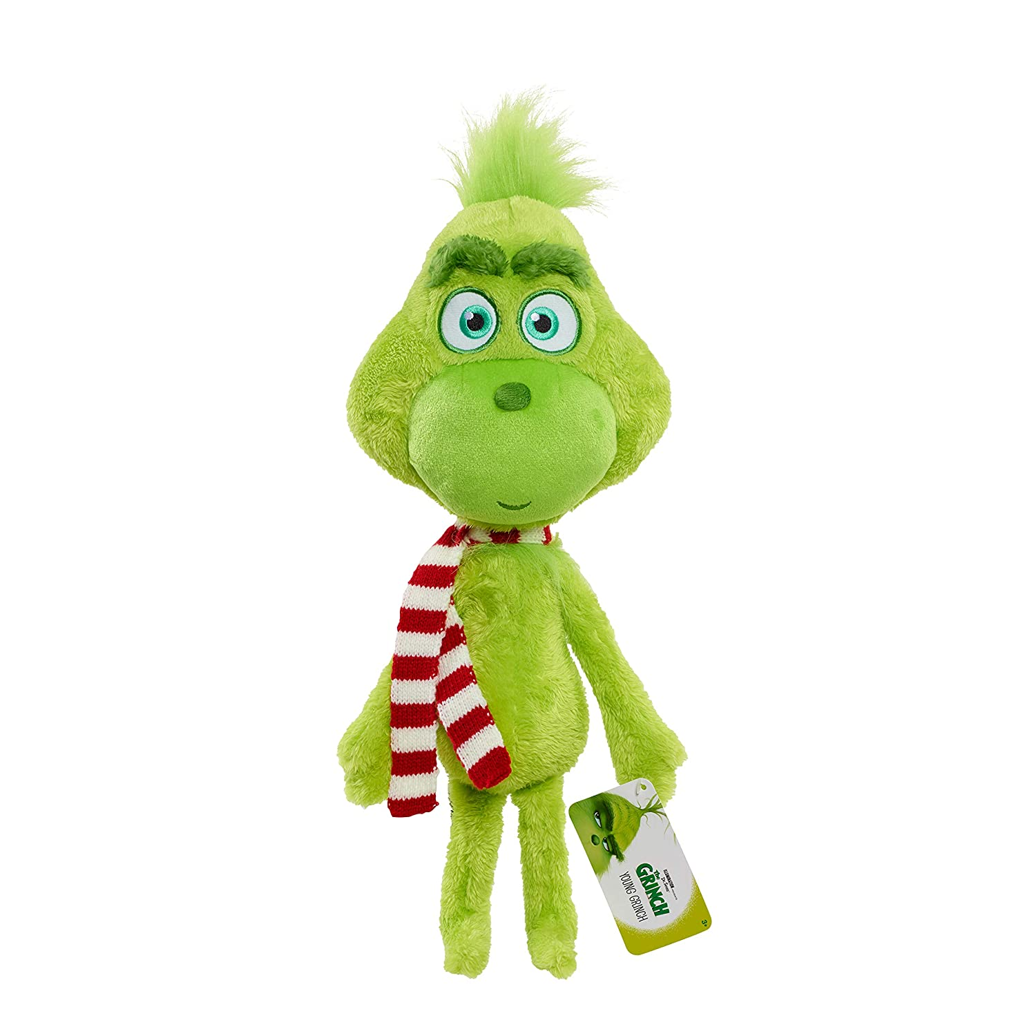 """15/""""//39cm Dr Seuss How the Grinch Stole Christmas with Santa Hat Plush Toys New"""