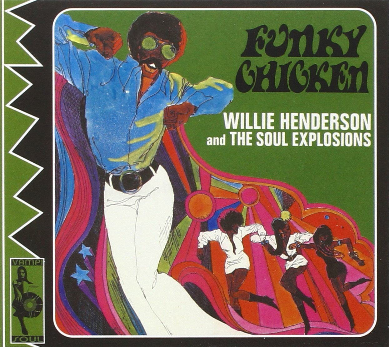 Image result for funky chicken willie henderson single images