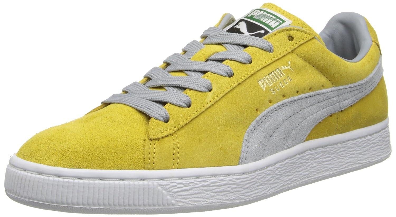 PUMA Adult Suede Classic Shoe B00GV4H886 6 M US|Ceylon Yellow/Quarry