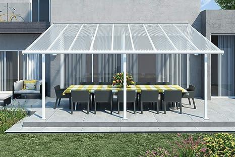 Palram Sierra - Techo para terraza (aluminio, 299 x 555 cm ...
