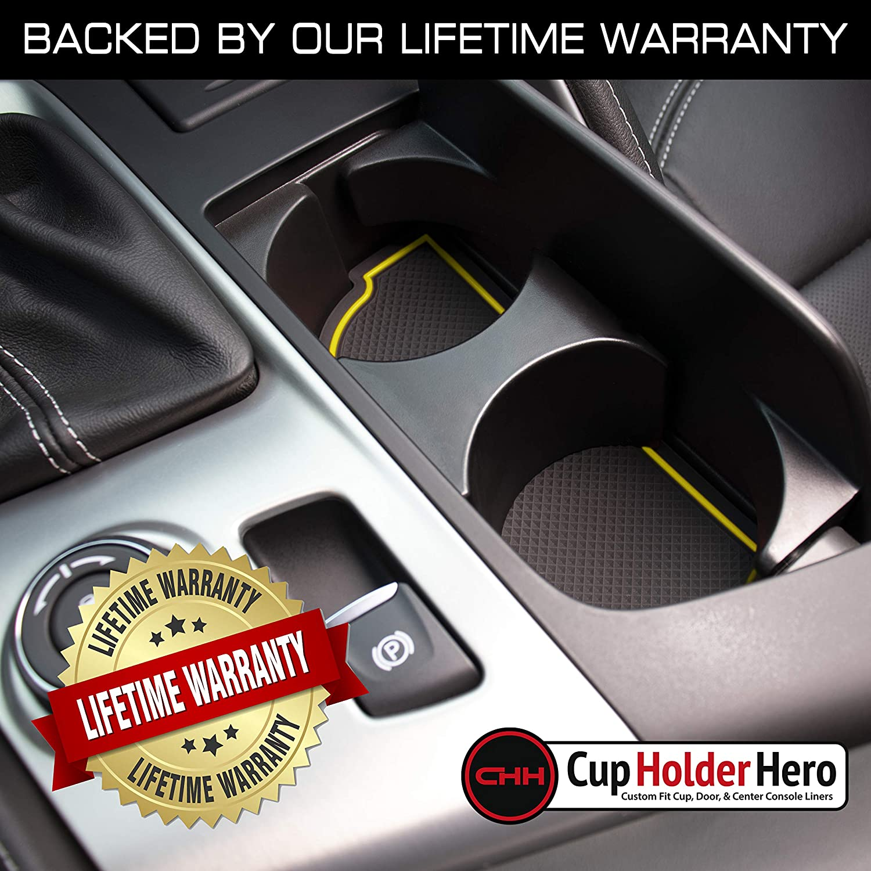 Blue Trim Premium Cup Holder CupHolderHero for Chevy Corvette C7 ...