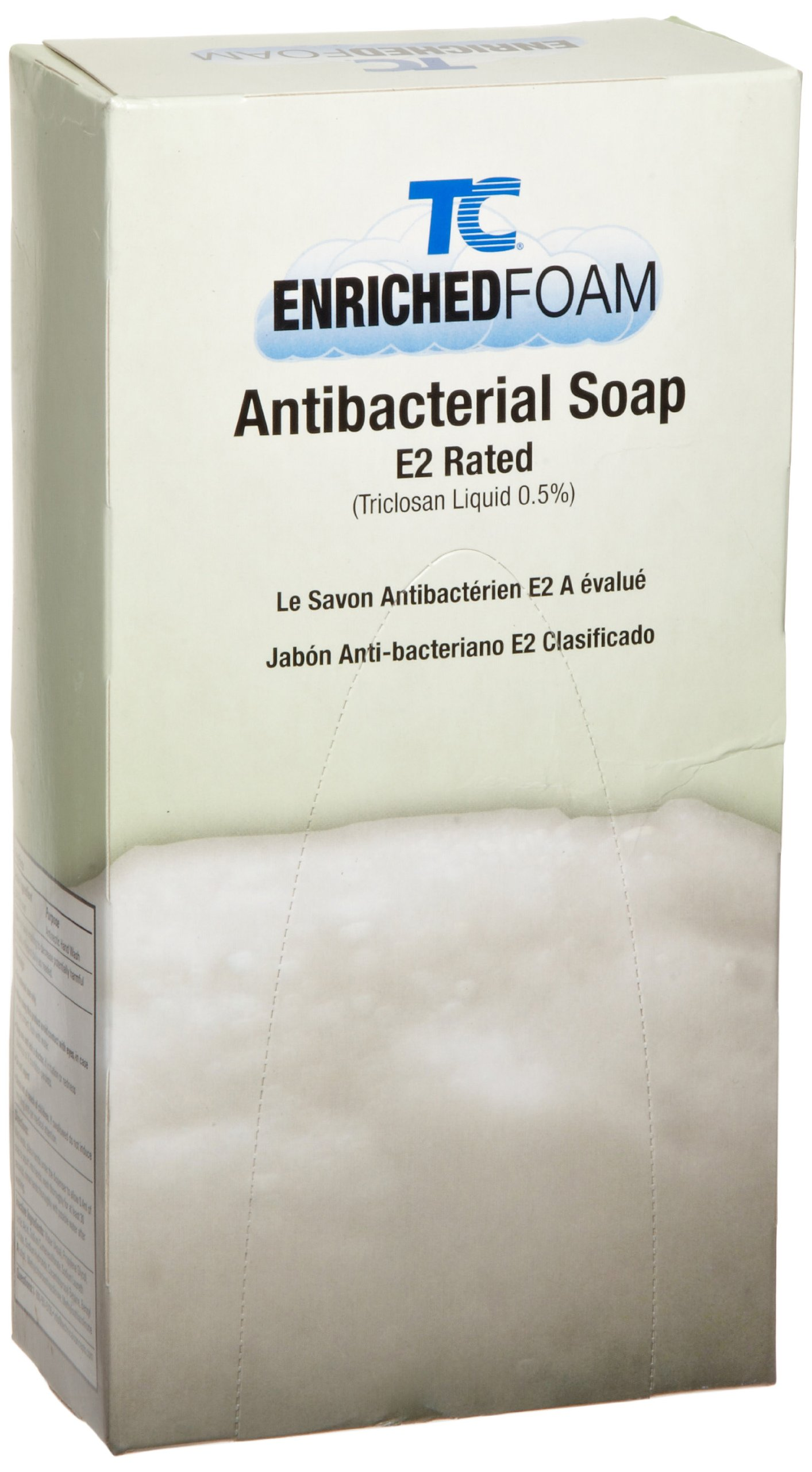 Rubbermaid Commercial Enriched Foam Antibacterial Soap E-2, 800-ml, FG450031