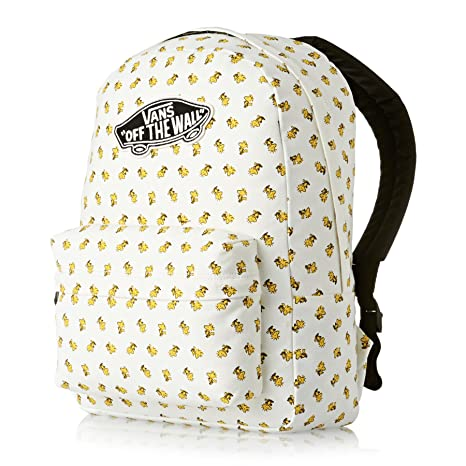 2200c733c92 Image Unavailable. Image not available for. Colour  VANS Peanuts Realm  Backpack Woodstock ...