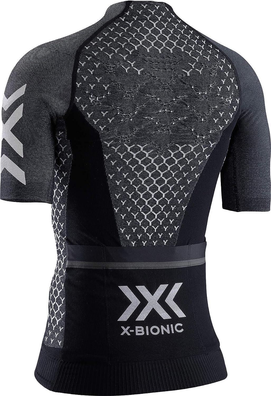X-Bionic Twyce 4.0 Bike Zip Short Sleeve Camiseta de Manga Corta Mujer