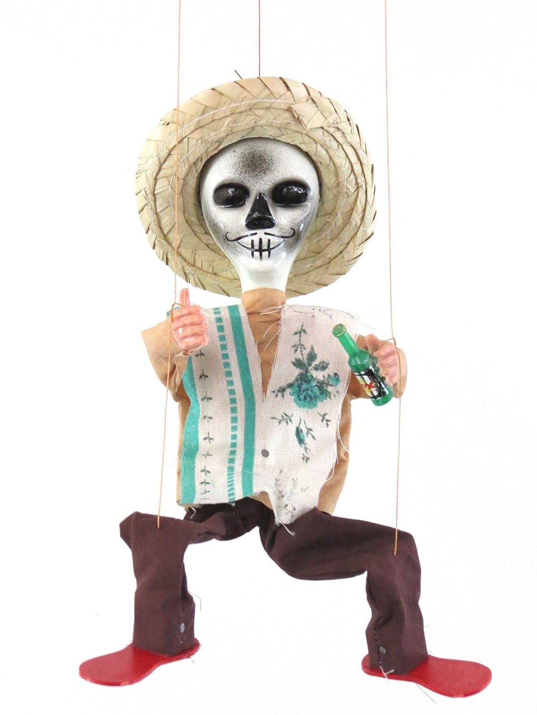 Leos Imports Mexican Puppet Marionette (Tag von die Dead)