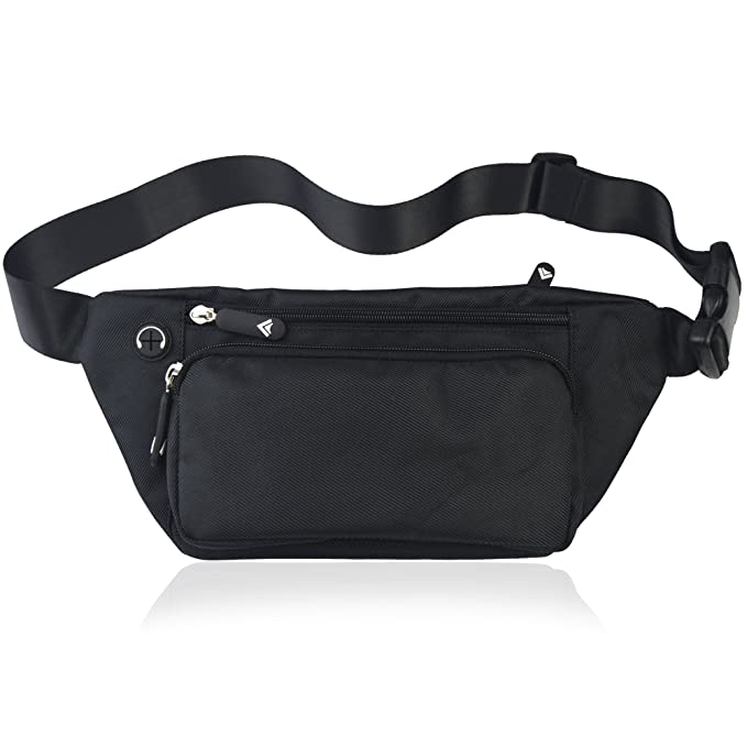 f262139ce30b TIFRY Fanny Pack for Men Women Waist Pack Bag Quick Release Buckle Water  Resistant