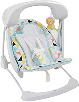 Fisher-Price Deluxe Take-Along Swing & Seat