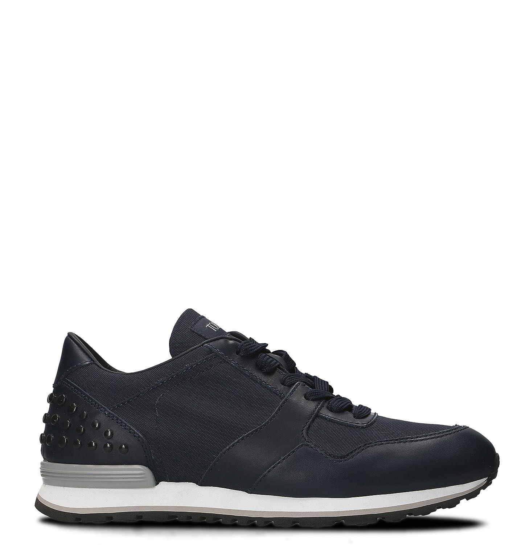Tod's メンズ XXM0XH0R011F1U000Z ブルー 革 運動靴 B07CCZFD7N