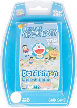 Top Trumps Doraemon Card Game (30 Cards)