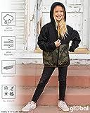 Global Blank Kid's Hooded Lightweight Packable