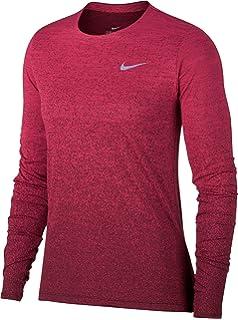 5988a2399b66d Amazon.com: Nike Women Medium Dri-Fit Running Top Athletic Apparel ...