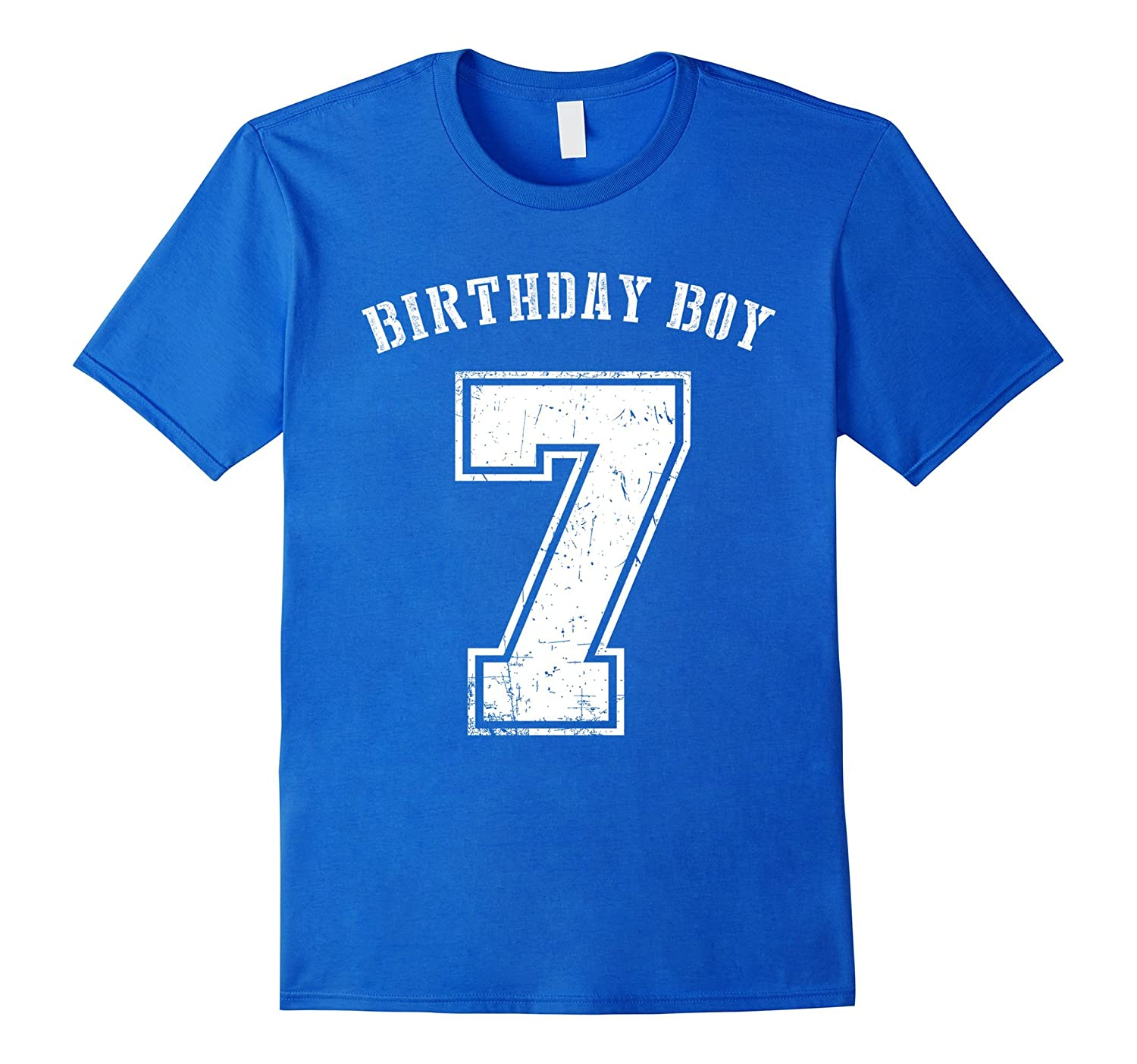 Birthday Boy 7th Tshirt 7 Years Old For Kids CL
