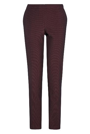 next Mujer Pantalones De Traje Pitillo Texturizado Estilo ...
