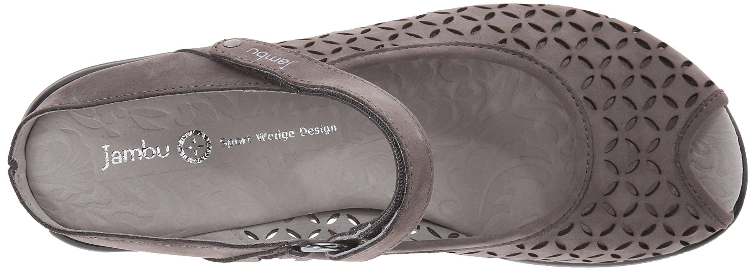 Jambu Women's Journey Encore Wedge Sandal, Dark Grey, 10 M US by Jambu (Image #8)