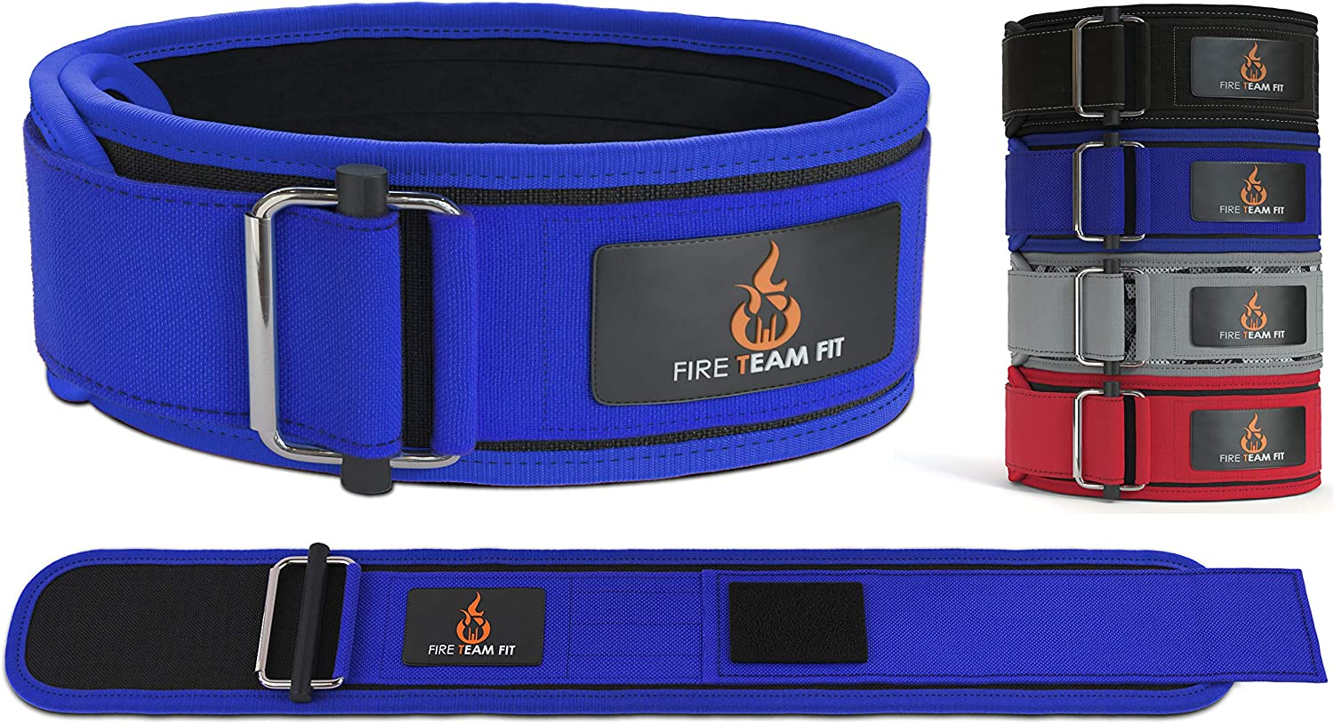 Fire Team Fit Weightlifting Belt For Men and Women 6 Inche Olympic Lifting